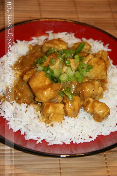... Recipes – Busy in Brooklyn » Blog Archive » Peanut Chicken Curry