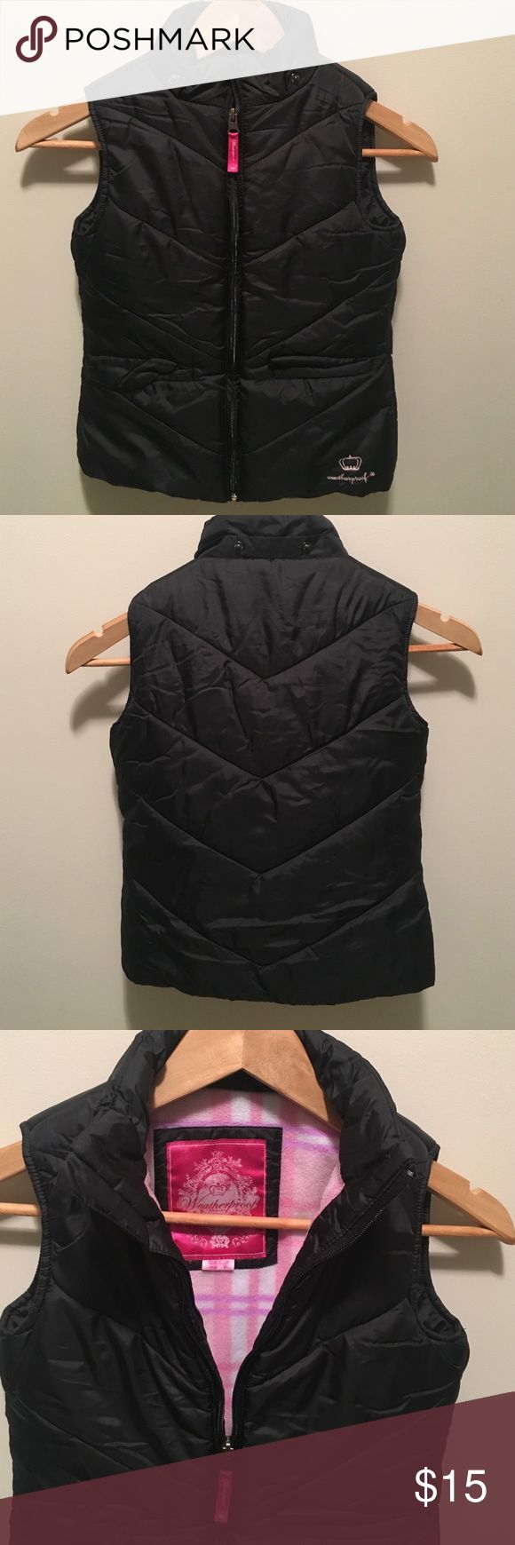 Girls puffer vest Used, good condition girls puffer vest. Size 6x has 2 front pockets Jackets & Coats Vests