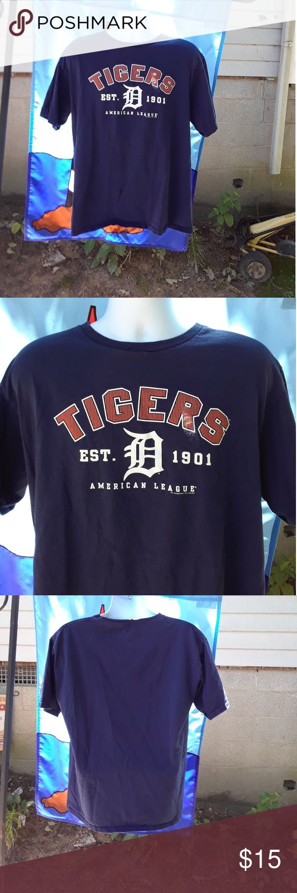 Selling this Detroit Tigers T-shirt men's size large on Poshmark! My username is: alicesales. #shopmycloset #poshmark #fashion #shopping #style #forsale #MLB #Other