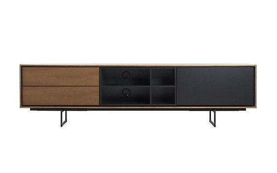 Aura Media Unit - maybe to low.. and not enuf storage - comes in lighter walnut