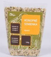 Konopné semienka lúpané: Lúpané semienka od Hempo majú delikátnu orieškovú chuť a v receptoch nimi môžete nahradiť vlašské alebo píniové orechy. Vyskúšajte domáce konopné mlieko, jogurt či konopné tofu, alebo zmiešajte semienka s medom a hrozienkami a ochuťte si ranné müsli.