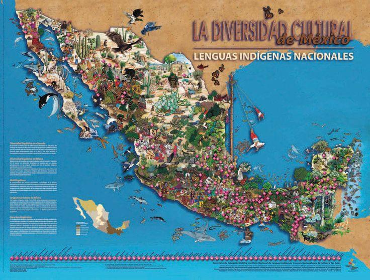 En el sureste del país se concentra la mayor parte de los hablantes de lenguas indígenas que existen en nuestro país. Orgullosamente, México ocupa el segundo lugar en el continente americano en el número de lenguas indígenas habladas.    En Europa se hablan lenguas de cinco familias lingüísticas, mientras que sólo en Oaxaca se hablan lenguas de seis familias.    ¿Sabían que en México no existe idioma oficial y que la Ley de Derechos Lingüísticos de los Pueblos Indígenas establece que las…