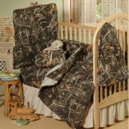 Realtree® Camo Nursery Bedding Set | Starts at $25.50 - via bit.ly/epinner