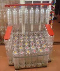 Resultado de imagen para manualidades en material reciclable botellas plasticas