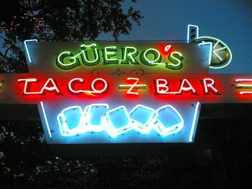 Guero's Taco Bar on South Congress