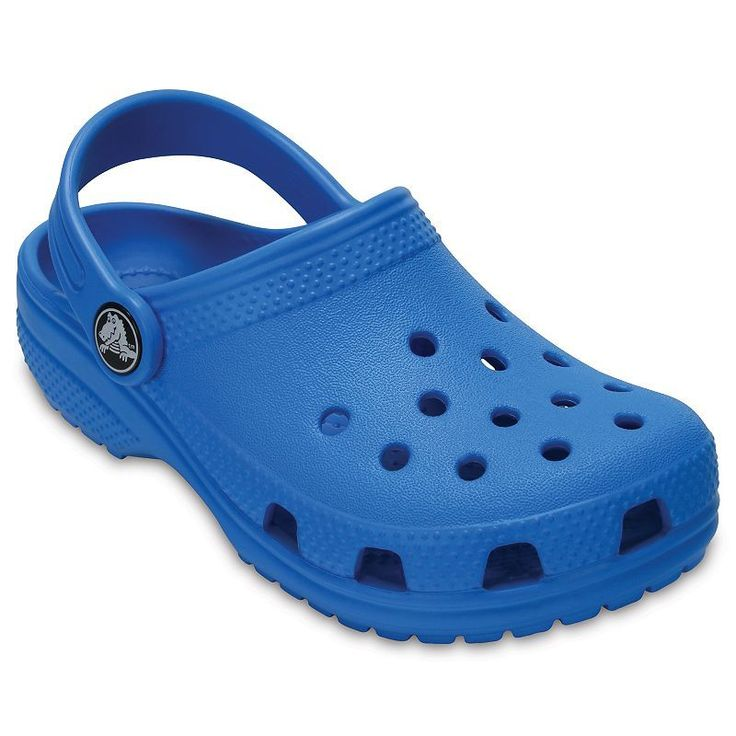 Crocs Classic Kid's Clogs, Light Blue