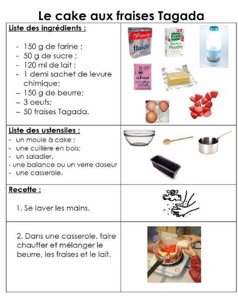 Les 25 meilleures id es de la cat gorie recette maternelle - Cours de cuisine par internet ...
