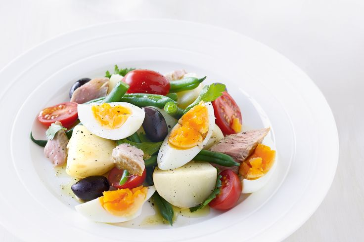 French. Nicoise Salad. This super salad of beans, spuds, tomatoes and tuna is a sure-fire winner.