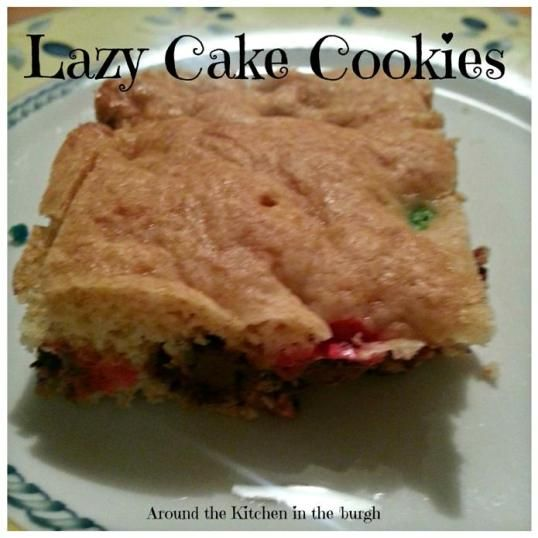 Lazy Cake Cookies | Around The Kitchen in the 'burgh