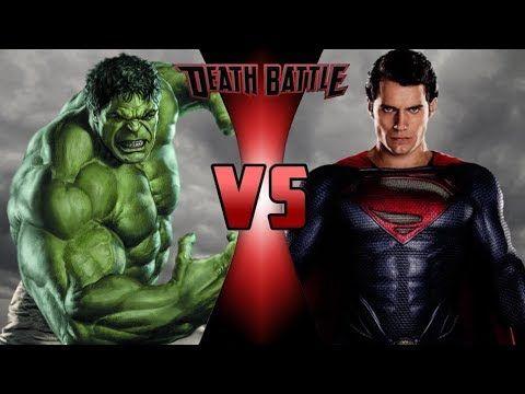 Hulk vs superman fight