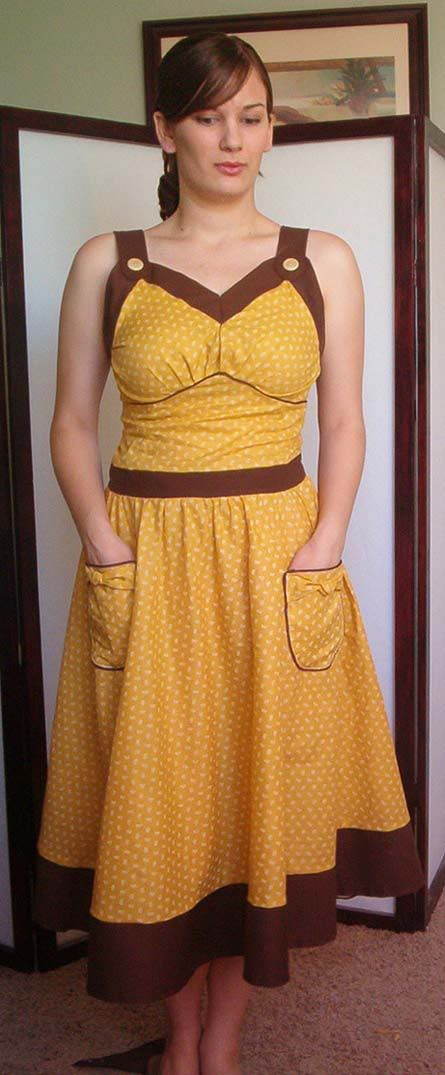 I'm a milkmaid? Summer time dress. TUTORIAL ADDED!!
