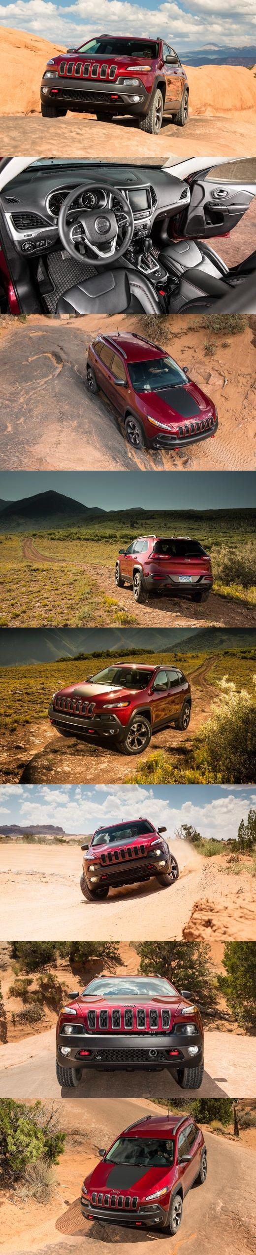 Jeep Cherokee Trailhawk - 2 months!! :) Ours looks identical to this..