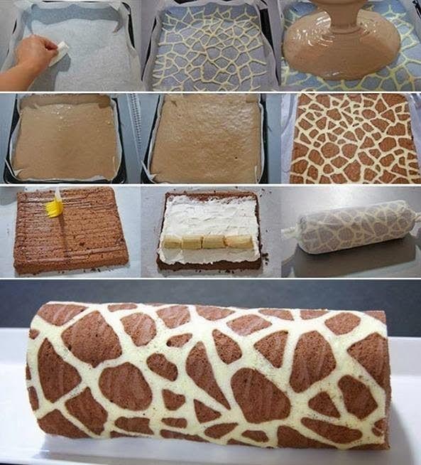 κορμός ζέμπρα  -  cake zebra