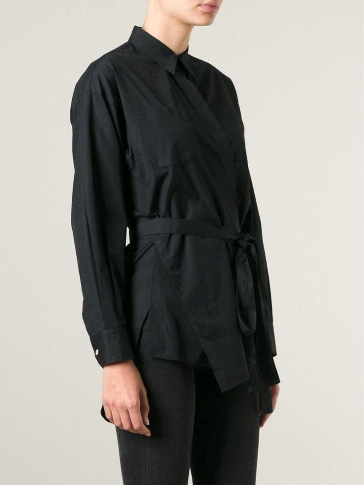 Jean Paul Gaultier Vintage wrap style front shirt