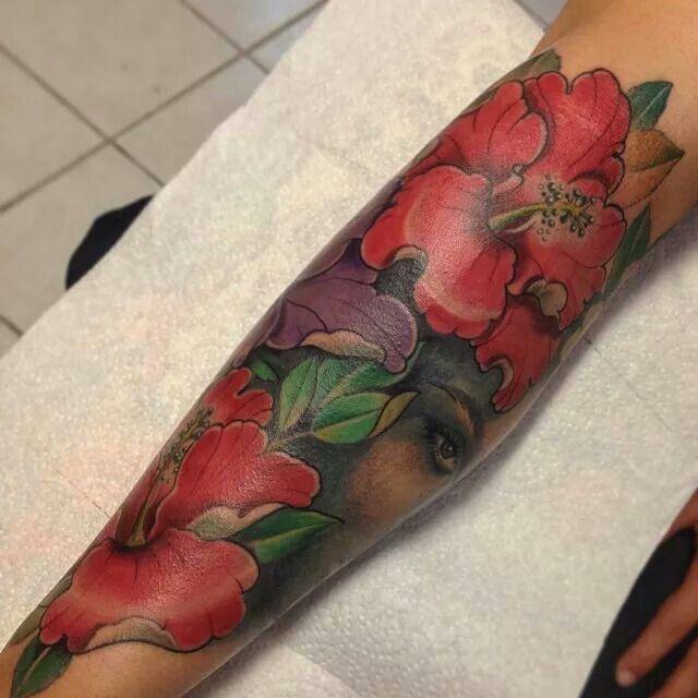 Flor de Maga, national flower for Puerto Rico.   Tattoos ...