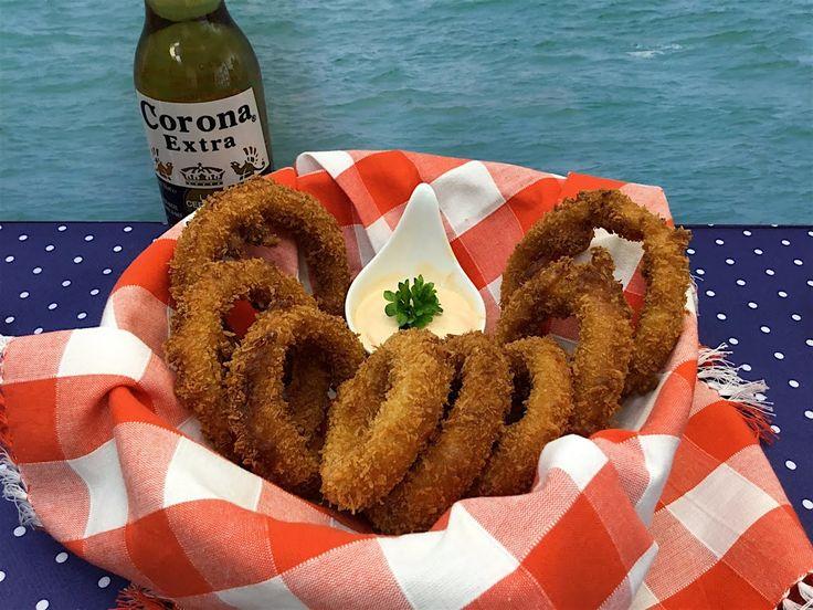 Majkl Express: Best Onion Rings recipe