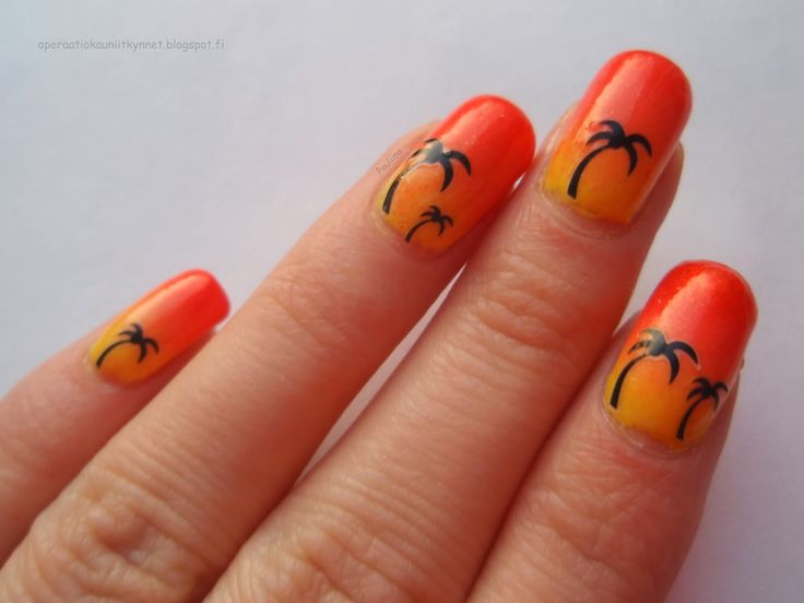 Coral Prosilk Neon 604, Color Club In Theory, Golden Rose 06 & Coral Prosilk 126 with nail stickers