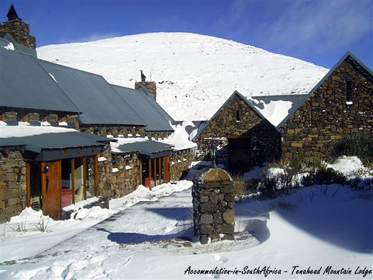 Build a snowman? Tenahead Mountain Lodge and Spa, Rhodes. Rhodes Accommodation.