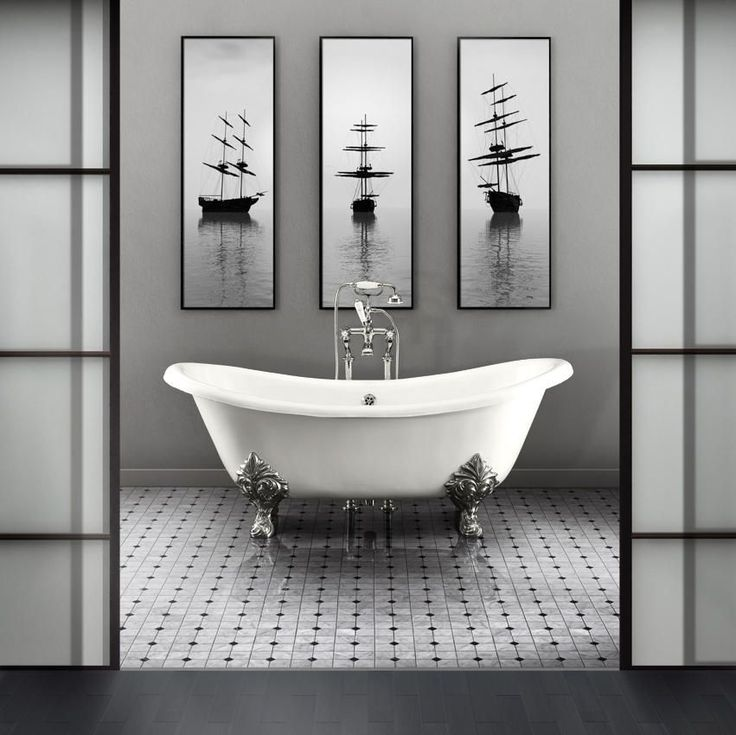 ... A Trendy Yet Timeless Solution For Your Bathroom, You May Start  Considering A Black And White Decor. Indeed, By Choosing A Black And White  Decor In A ...