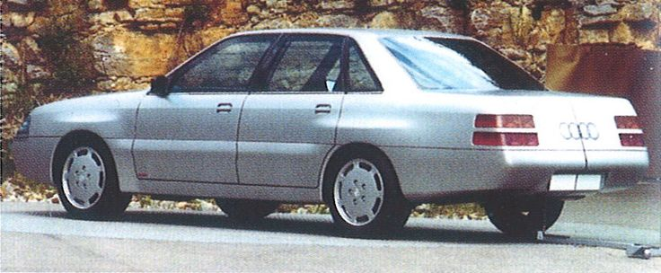 OG | 1989 Audi V8 | Prototype dated 1987