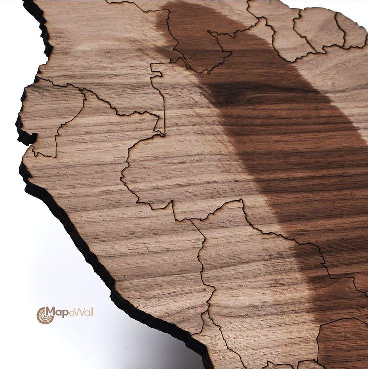 Notenhout met olie