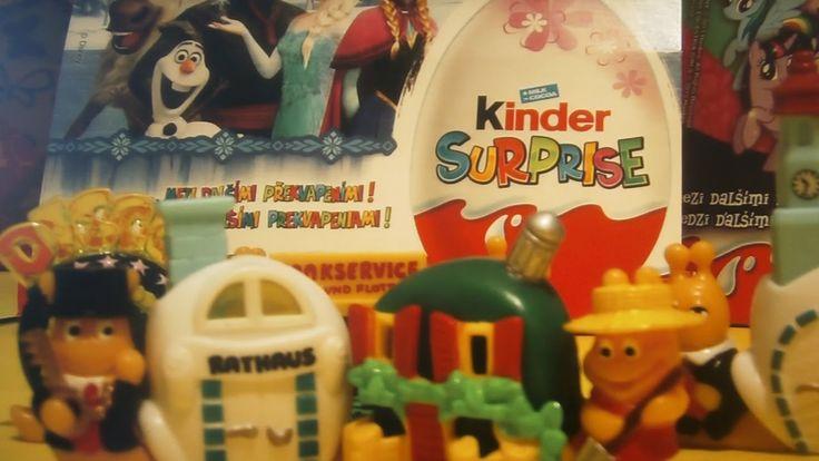 Kinder Surprise Egg Toys Retro Snails