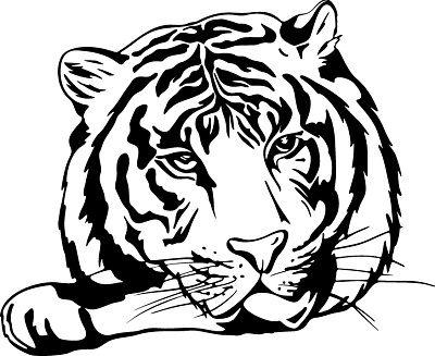 38 mejores im genes de tiger tattoo outlines en pinterest ideas de tatuajes contorno del - Tete de tigre dessin facile ...