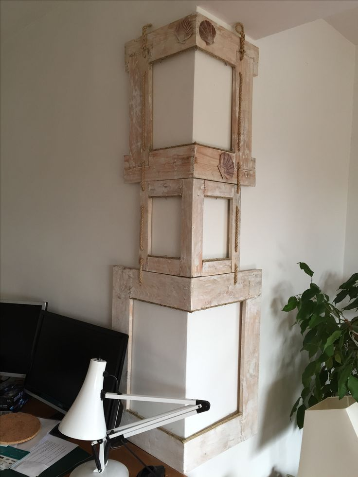 Corner picture frame