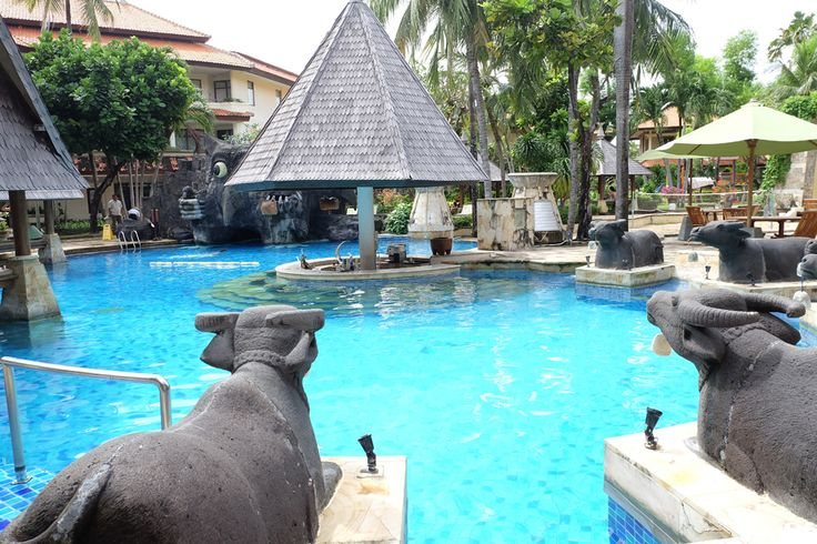 It's a perfect day to be at the pool, and we even saved you a seat!     #thetanjungbenoa #TheTaoBali #bali