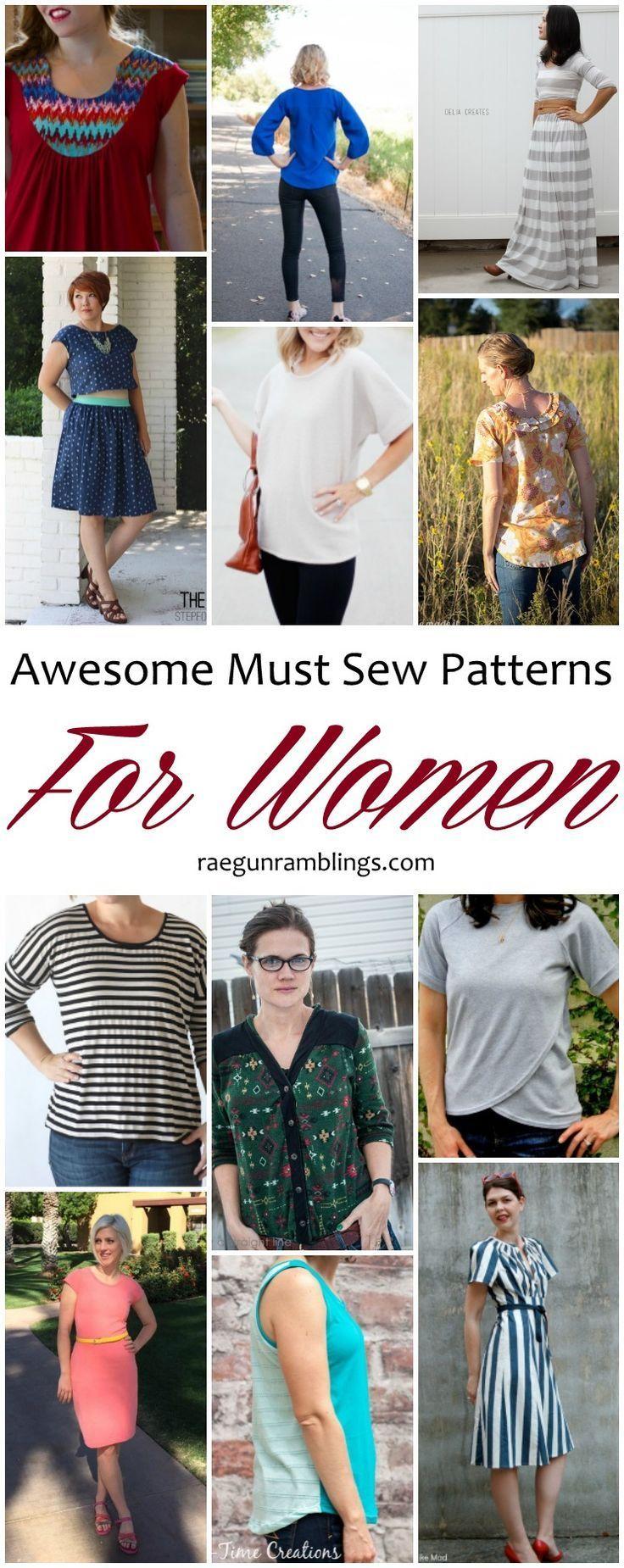 Genial Must Sew Patterns für Frauen und Sew Our Stash –  – #Kurzhaarfrisuren