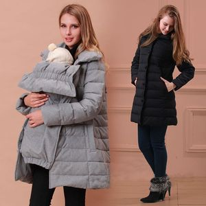 Sweet Mommy Down Maternity & Babywearing Coat #bumpedinbrooklyn