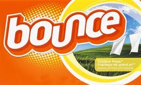 to make your house smelling great I take a bounce sheet and cut it to the size of the filter that blows the clean air back out of my vaccume and as I clean it makes my house smell like I have been doing laundrey all day!!