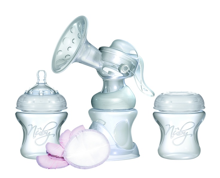 nuby manual breast pump instructions