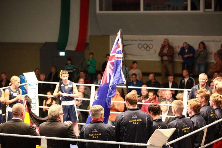 Deutschland vs. Australien in Wesel - Die Veranstaltung wird als LIVESTREAM im Internet bei uns übertragen.