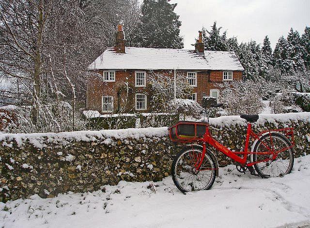 Winter in England...lovely.