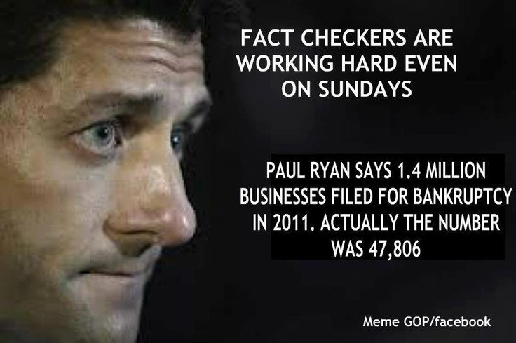 Paul Ryan: Keeping fact checkers busy since 1998