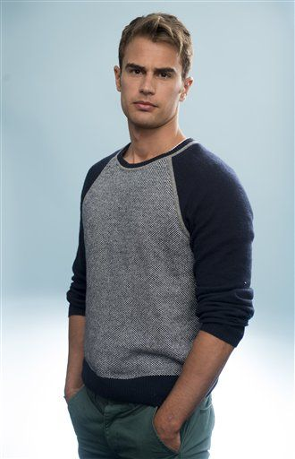 Theo James, He's gonna be Tobias in the Divergent movie!!!