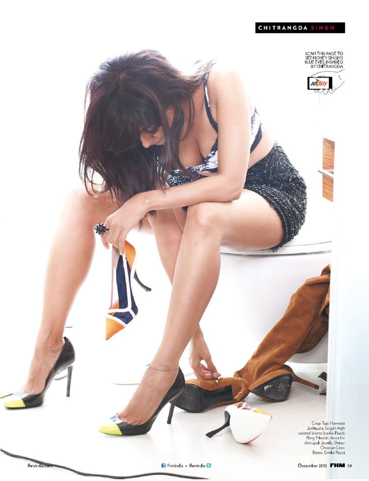Chitrangda Singh Stunning Hot & Spicy Scans From FHM December 2013 - HQ Pics...