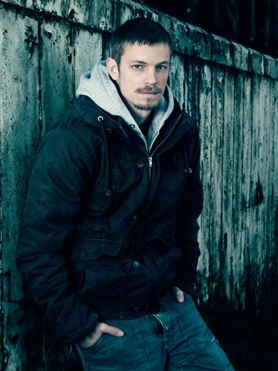 "Stephen Holder (Joel Kinnaman) - ""The Killing"" on AMC. I love his character. Is he good or is he evil?"