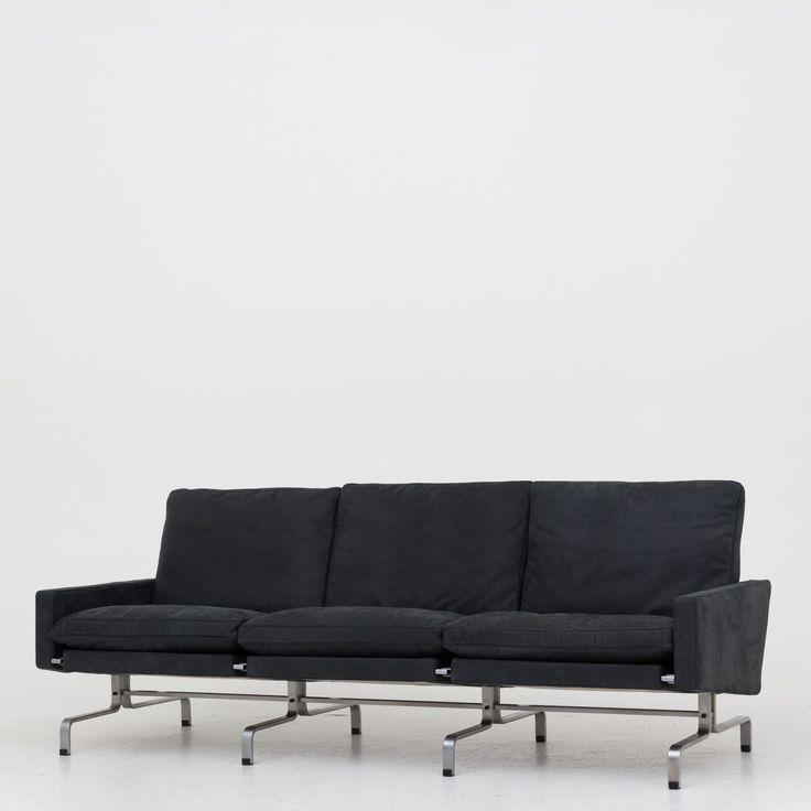 PK 31/3 - Reupholstered sofa