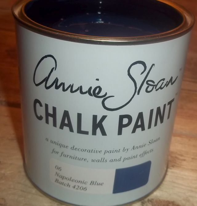 Annie Sloan krijtverf Napoleonic Blue 1 liter