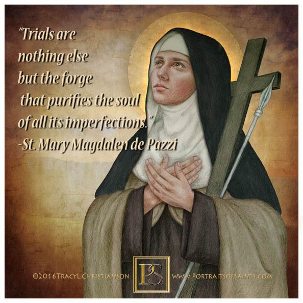 16 Best ST MARY MAGDALENE DE PAZZI Images On Pinterest Mary