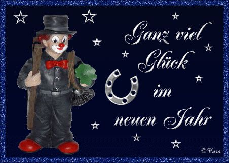lustiges Bild 'Ganz viel Glueck.gif' von Floh. Eine von 215 Dateien in der Kategorie 'Silvester / Neujahr' auf FUNPOT.