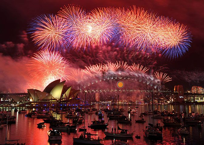 New Years Eve in Sydney......there is nothing like it!!
