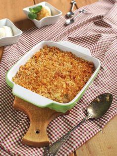 Crumble pommes poires sans beurre - Recette de cuisine Marmiton : une recette