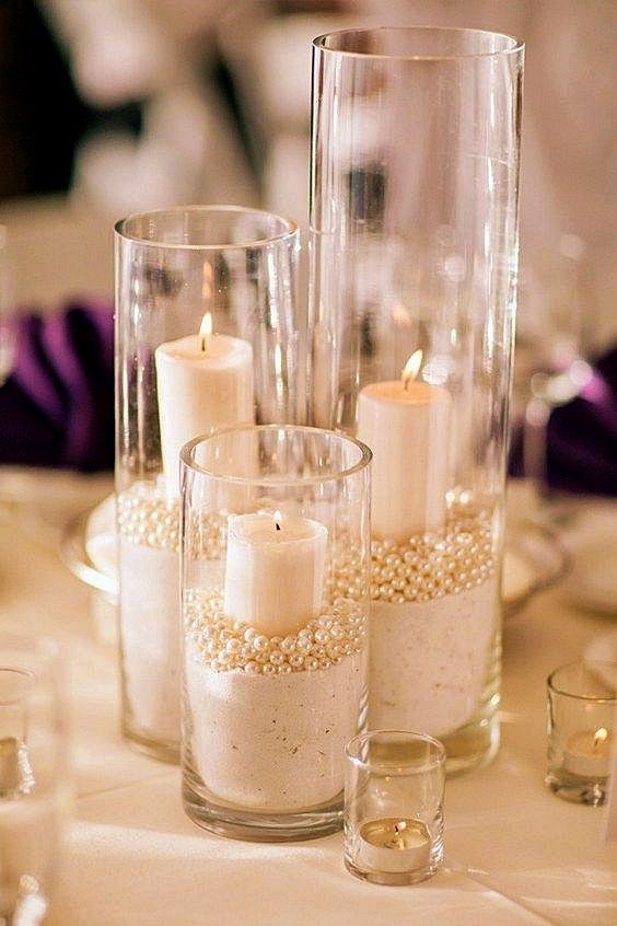 22 Gorgeous Wedding Centerpieces Without Flowers Wedding
