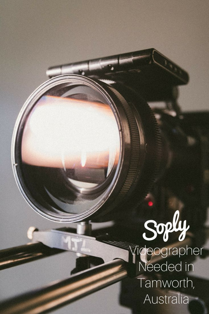 #Videographer needed for an #event in #Tamworth, #Australia. See the #videography job and apply by clicking the pin!