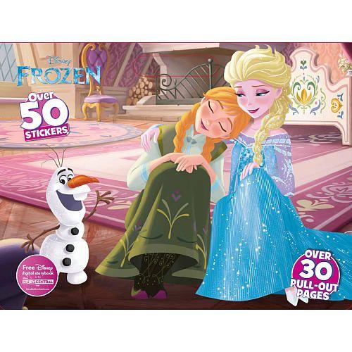 Disney Frozen Giant Floor Coloring Pad