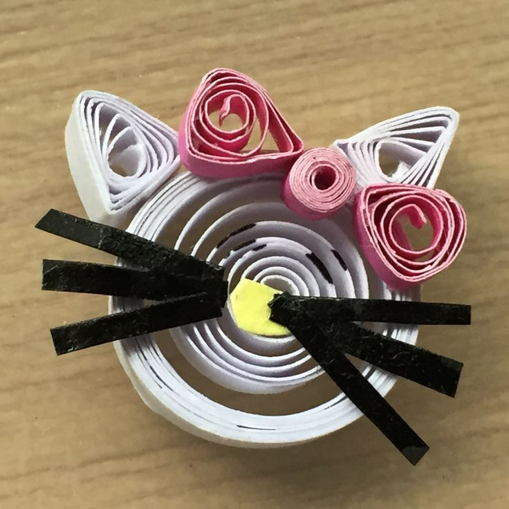 Hello kitty quilling!!