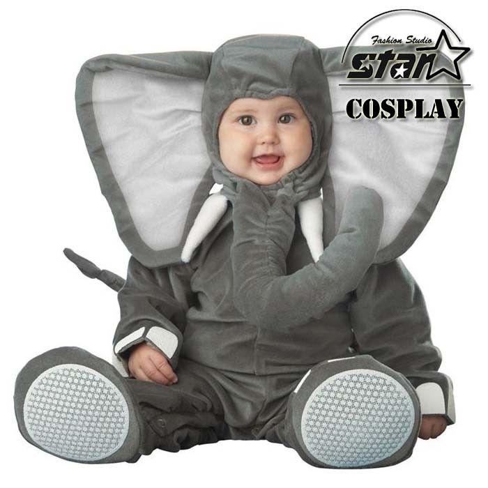 New Arrival Jumpsuit Elephant Monkey Lion Owl Elf Pink Horses Penguins Leotard Romper Infant Costumes Baby Costumes Baby Onesie